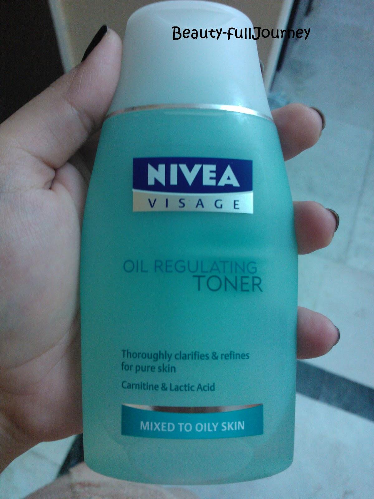Nivea Visage Oil Regulating Toner Review