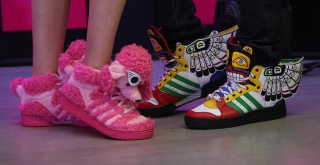 Jeremy Scott shoes from adidas Originals