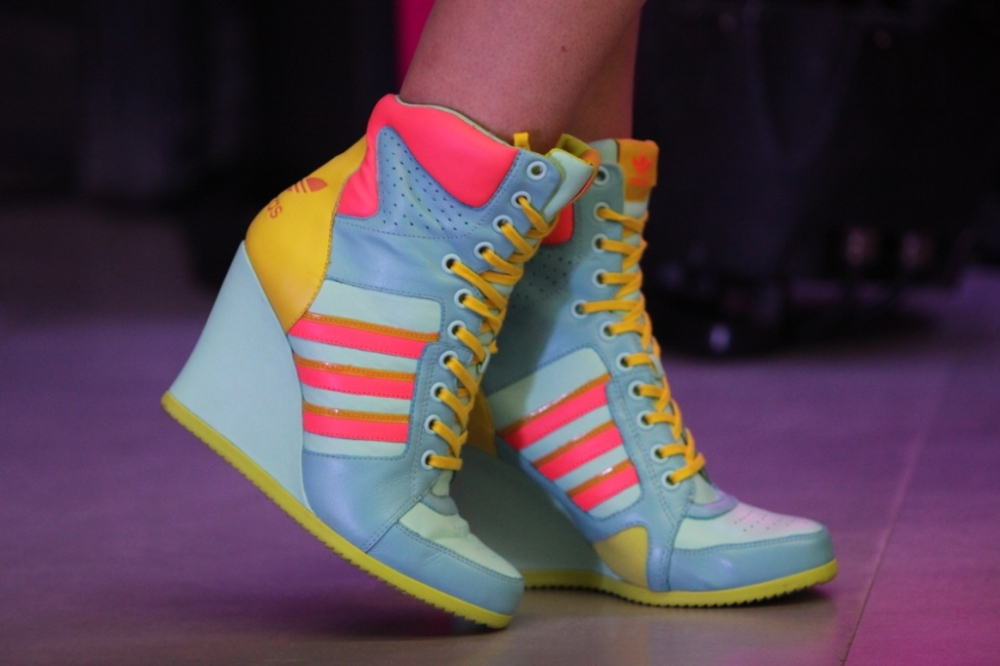 Shoes from Jeremy Scott Collection