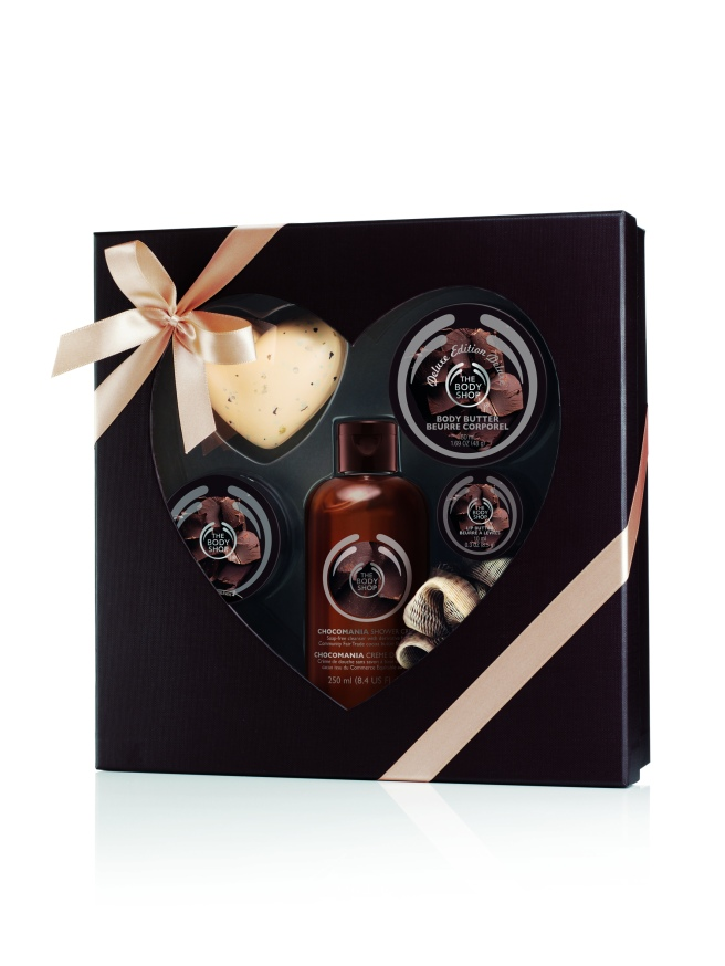 The Body Shop Chocomania box set, Rs 2695