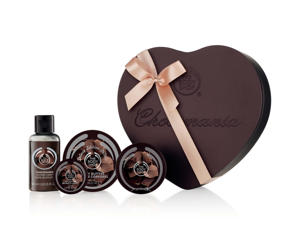 The Body Shop Heart Box Set Delux, Rs 1795