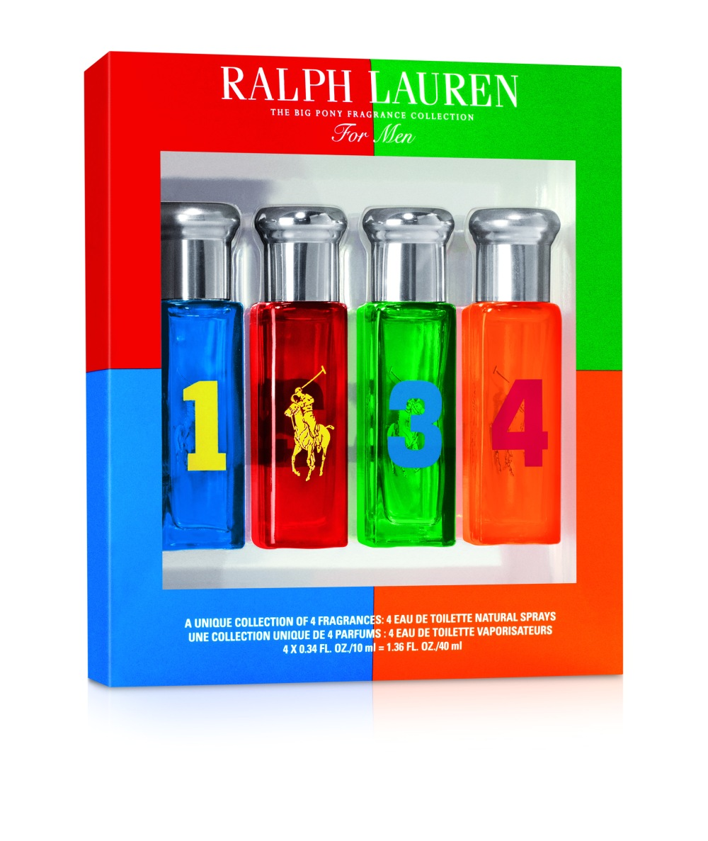 Big Pony Men 4x10ml Set