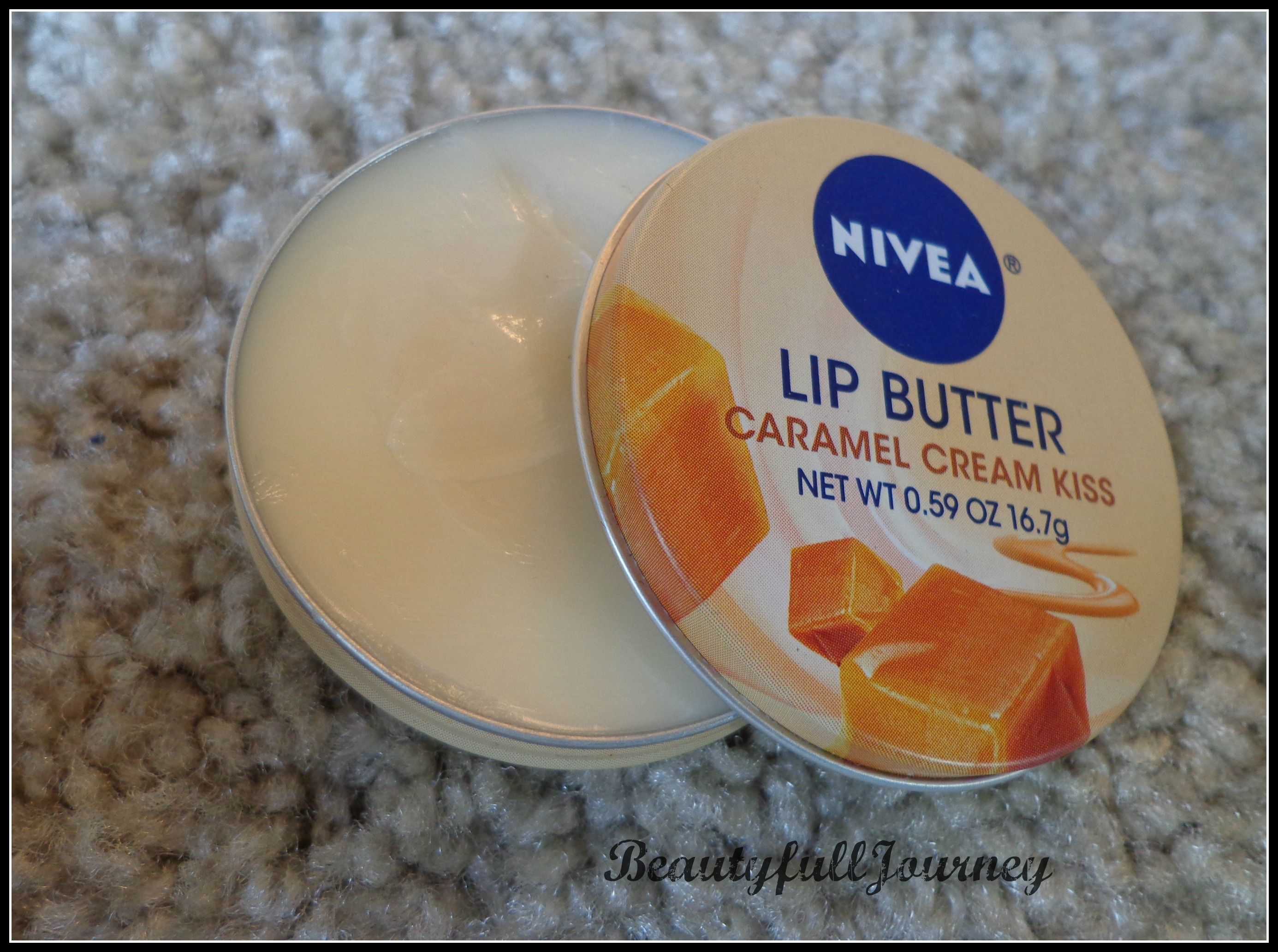 Nivea Lip Butter Caramel Cream Kiss Review Pictures All Things Dsc037011