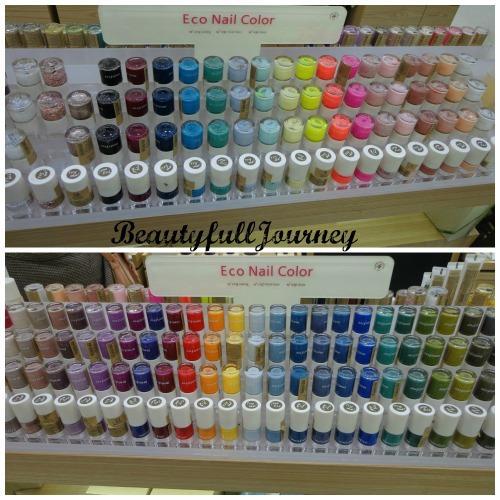 Their vast nail paint range!